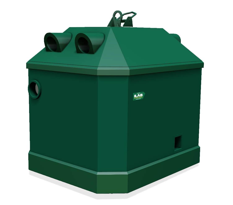 Gjenvinnings-container